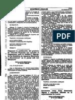 RM160-2011-MINAM Proyecto de Reglamento para la Gestion y Manejo de los Residuos de aparatos electricos y electronicos.