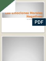 Las Emociones Morales Negativas