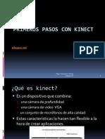 Primeros Pasos Con Kinect