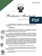 RM527-2011-MINSA Guia Tecnica para la Evaluacion de la Satisfaccion del Usuario Externo en los EESS y Servicios Medicos de Apoyo.