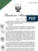 RM537-2011-MINSA DA180-Minsa, Criterios tecnicos para la Incorporacion de TIC en Salud.