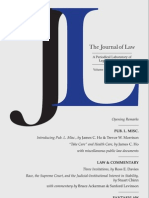 The Journal of Law, Volume 1, Number 1