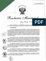 RM577-2011-MINSA Planeamiento Multianual de Inversiones en Salud a nivel Regional 2011