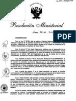 RM581-2011-MINSA DA 184-Minsa para la Evaluacion del desempeño de la Gestion de Directores de Institutos Nacionales y Hospìtales del Minsa