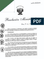 """RM617-2011-MINSA Aprueba la Directiva Administrativa 185-Minsa """"Medidas de Ecoeficiencia en el Ministerio de Salud"""""""