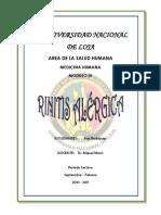 Rinitis Alergica - Sinusitis