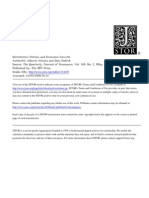 Alesina, A. and D. Rodrik - Distributive Politics and Economic Growth (TQJE Vol 109, 1994)