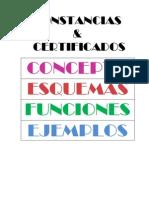 Constancias & Certificados