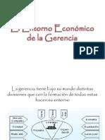 El Entorno Economico de La Gerencia