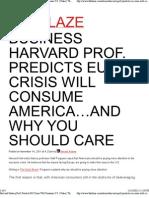 Harvard History Prof. Predicts EU Crisis Will Consume U.S. Video