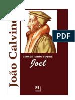 Joel Comentario Livro Joao Calvino