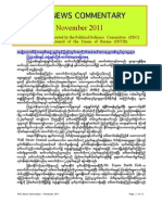 PDC Monthly News Commentary - November 2011