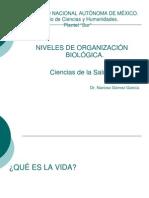 Niveles de Organizacion Bioogica