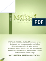 NICE IMPERIAL MATCHA GREEN TEA Presentacion Junta Patron - Copia