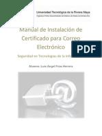 Manual Certificado Correo SSL - Luis Angel Frias