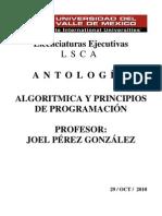 ANTOLOGIA programacion c