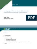 Beispiel Prozessorientierte Anwendung in Erzeugungsplanung
