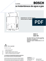 Boiler Bosch Manual_ECO5