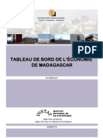 Tableau de bord de l'économie de Madagascar - n°5 - Octobre 2011 (INSTAT/2011)