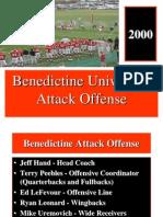 2000 Benedictine University Attack Option Offense - 26 Slides