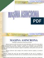 Masina Asincrona Constructie,Functionare
