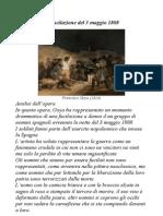 La Fucilazione Del 3 Maggio 1808