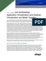 XenApp XenDesktop Whitepaper