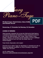 Seeburg Piano Tage