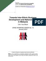 Inter Ethnic Business