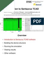 Introduction to Sentaurus TCAD-1