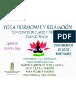 Yoga Hormonal y Relajacion Cuencoterapia