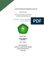 SUPERVISI PENDIDIKAN ISLAM - KONSEP DASAR SUPERVISI PENDIDIKAN ISLAM - PPs IAIN TUlungagung - Oleh Afiful Ikhwan