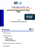 Building and Managing the Right PMO_06Feb2010v2