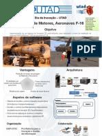 Projeto de manutenção de motores de F-16 com mundos virtuais