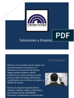 Cross Word - Soluciones a Empresas
