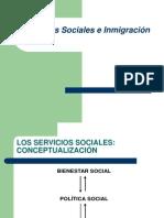 Servicios sociales e inmigración en Andalucía