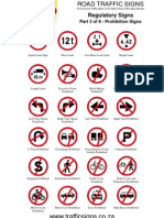 Prohibitions Signs