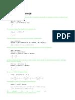 Cálculos Geodésicos varios con Mathematica
