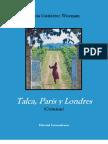 Talca, París & Londres_Alicia Gutiérres Worman