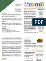 Yokota MOPS Newsletter {11/2011}