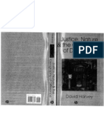 Harvey, Justice, Nature &Amp; The Geography of Difference