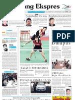Koran Padang Ekspres   Selasa, 15 November 2011.
