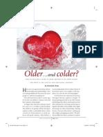 Colder Older