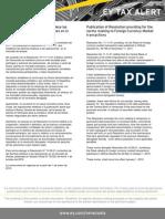 Tax Alert nov 2011. Resolución que estalece normas relativas a las operaciones en el mercado de divisas