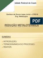 Redução Metalotérmica