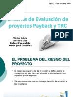 Criterios de Evaluación de Proyectos Payback y TRC