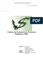 Informe Final TRC y Payback
