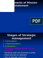 BP & Strategic Management