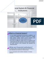 MFI Ch 1b(Financial System & Fin Inst)