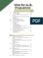 programscourses LLB BZU